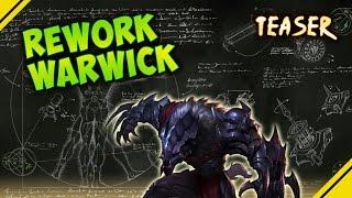 Rework WARWICK - Teaser   Noticias League Of Legends LOL