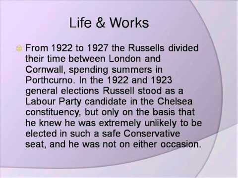Bertrand Russell Life & Works