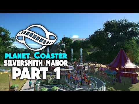 Silversmith Manor | Planet Coaster Gameplay Part 1 [Career Mode]