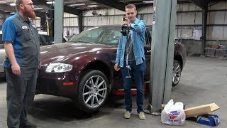 homepage tile video photo for Will the Cheapest Maserati Quattroporte Ever Be Fixed??? Wiring Hack Jobs Found!