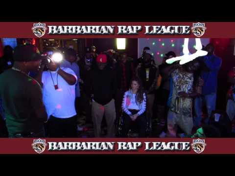 Marvolus vs Lyrical Hulk Barbarian Rap League Rap Battle