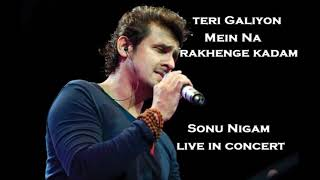 Teri Galiyon Mein | Latest Sonu Nigam 2019 | Rafi Songs | Top Sonu Nigam Songs