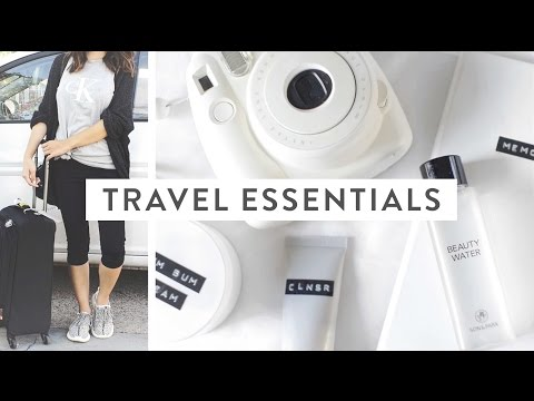 Chatty Travel Essentials + Outfit!