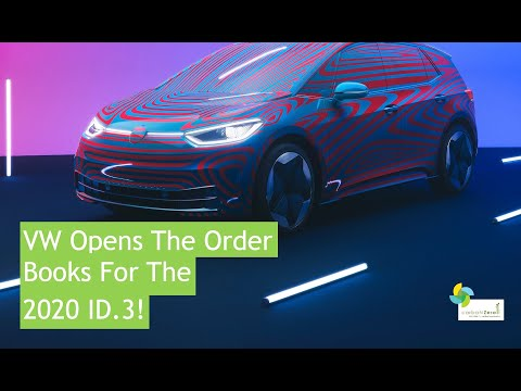 Volskwagen Opens The Order Books For The 2020 ID.3!