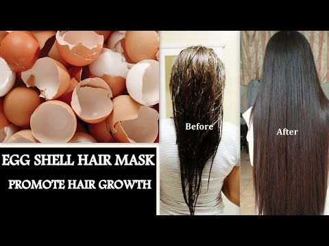 EGG HAIR MASK FOR HAIR GROWTH | EGG SHELL HAIR MASK FOR EXTREME HAIR GROWTH SOFT SHINY SILKY HAIR