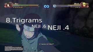 Naruto Storm 4 Neji Gmv
