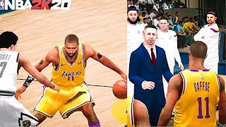 NBA 2K20 Mobile My Career EP 24 - On Court Coach Badge Unlocked! Calling Plays!!