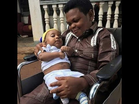 Meet Nollywood Actor Osita Iheme Pawpaw and His Baby