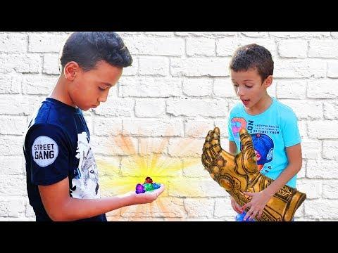 Дети нашли Камни Бесконечности ТАНОСА! Как Перчатка Бесконечности уничтожила Вселенную? Я Ясин