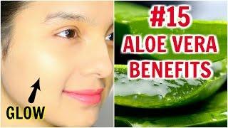 #15 Skincare Benefits & Uses Of ALOE VERA | Anaysa