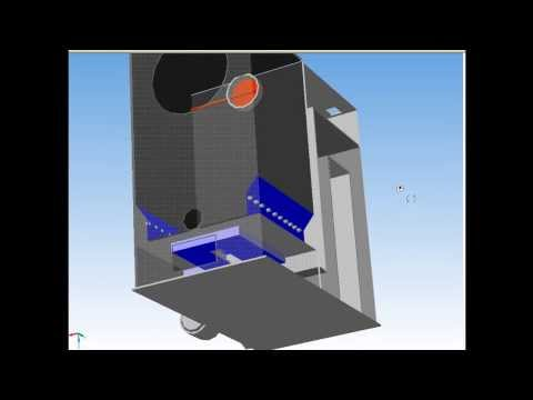 теплогенератор 3D модель