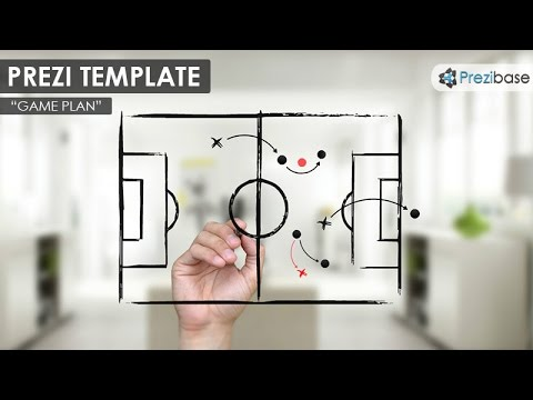 Game Plan Prezi Template YouTube - Game plan template