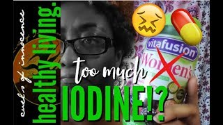 ╰☆╮I Got IODINE POISONING From This!? WTF? Healthy Living | Curls of Innocence