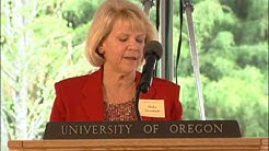 University of Oregon College of Education dedication