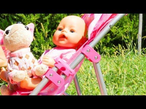 Giochi  e video per bambini. Bambola Nenuco. La pappa per Baby Born