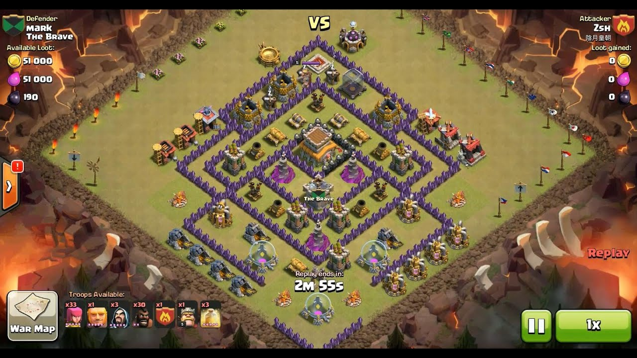Top 1000 Town hall 8 War Bases. Launch an attack in the simulator or modify with the base builder.