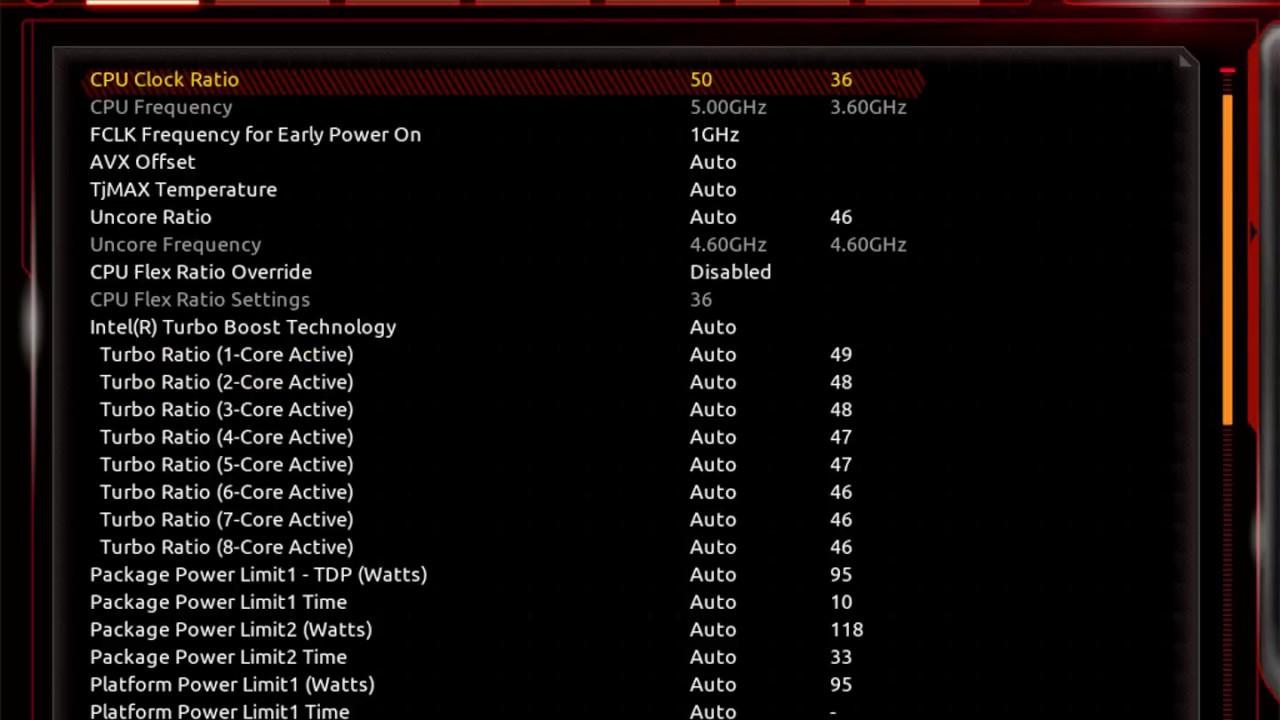 技嘉 Gigabyte Z390 AORUS PRO WIFI BIOS - OCWORKBENCH