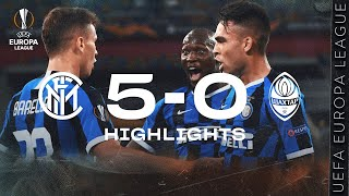 INTER 5-0 SHAKHTAR | HIGHLIGHTS | 2019/20 UEFA Europa League | We're in the Final!!! 🏆⚫🔵