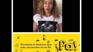 Marcela Carvajal  compartió la historia que más recuerda de su Pa