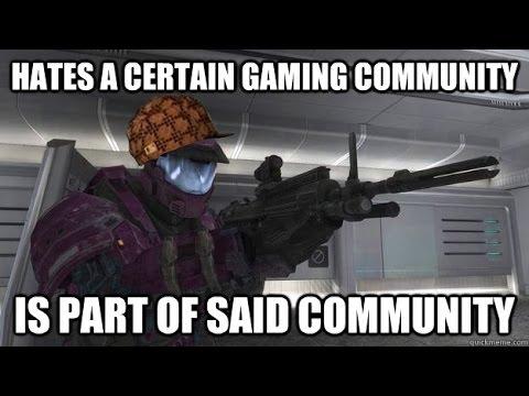 The gaming community sucks