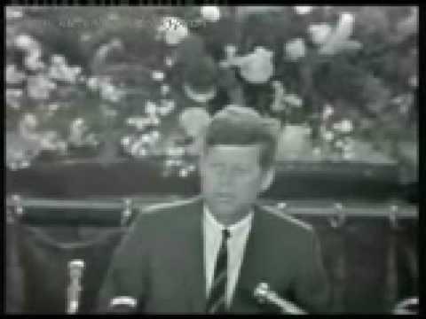 John F. Kennedy in Cork, Ireland, June 28th 1963