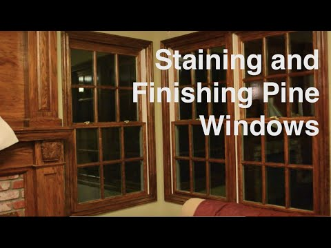 Pine Window Trim
