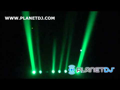Planet DJ - American DJ SWEEPER BEAM QUAD LED Bar