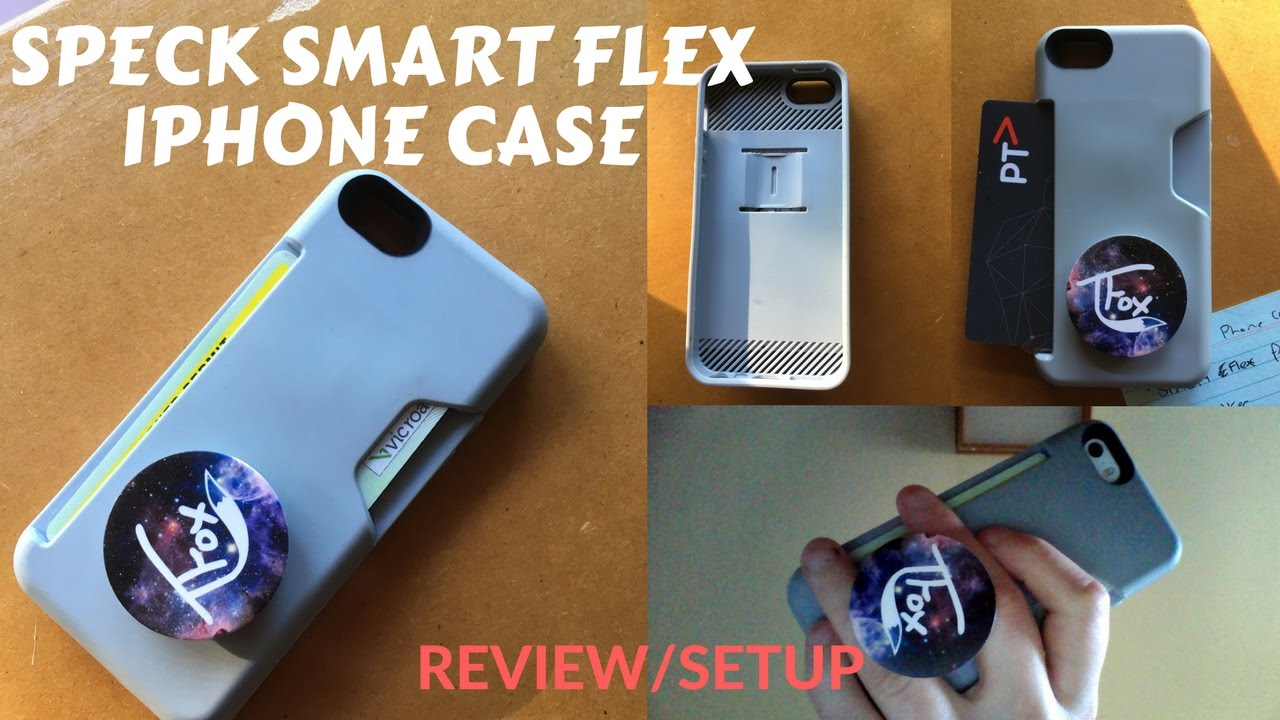 best sneakers 772ff 83865 iPhone SE Speck Smart Flex Card Case Review + Phone Setup
