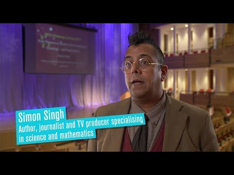 Interview with Simon Singh - host of 2017 EPS Christmas Lecture