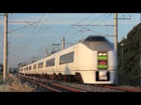Joban line 130km/h (2012/11/4)