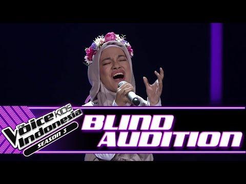 Cinta - Smells Like Teen Spirits | Blind Auditions | The Voice Kids Indonesia Season 3 GTV 2018