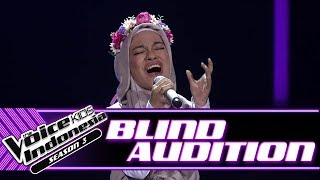 Cinta - Smells Like Teen Spirits | Blind Auditions | The Voice Kids Indonesia Season 3 GTV 2018