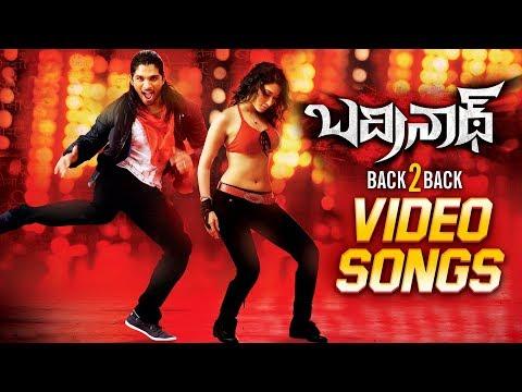 Badrinath Movie Back To Back Video Songs | Allu Arjun, Tamannaah | MM Keeravani | VV Vinayak
