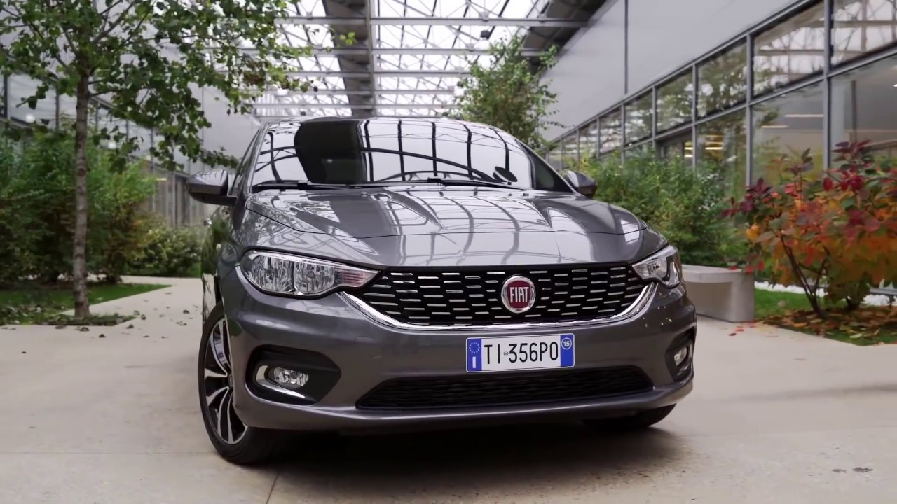 2016 fiat tipo interior exterior and drive youtube for Interior fiat tipo
