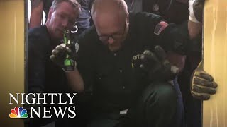 Elevator Drops 84 Floors In One Of Chicago's Tallest Buildings | NBC Nightly News
