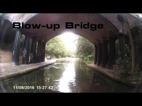 Canal Cruises - Little Venice to London Zoo, Aug  2016