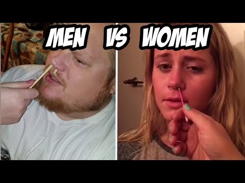 MEN vs WOMEN -  Who is the funniest at failing