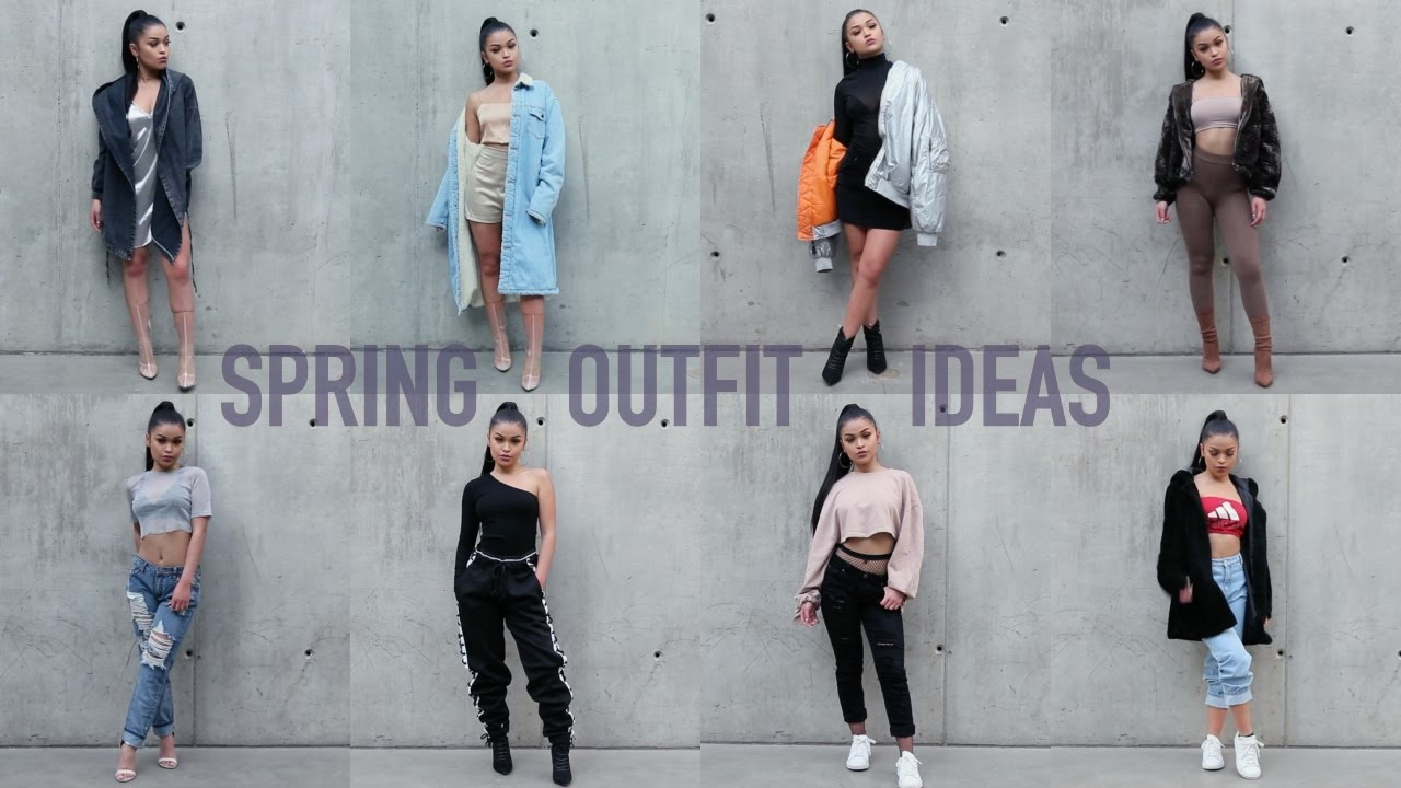8 outfit ideas to slay spring �� koleen diaz youtube