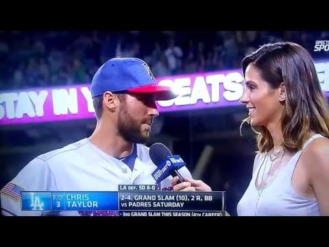 Chris Taylor interview after getting GRAND SLAM