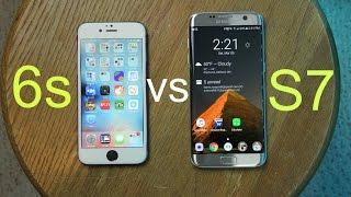 Galaxy S7 vs iPhone 6s Speed Test (Apps + Fingerprint)