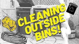 HOW TO CLEAN YOUR OUTSIDE BIN - WHEELIE BIN CLEANING