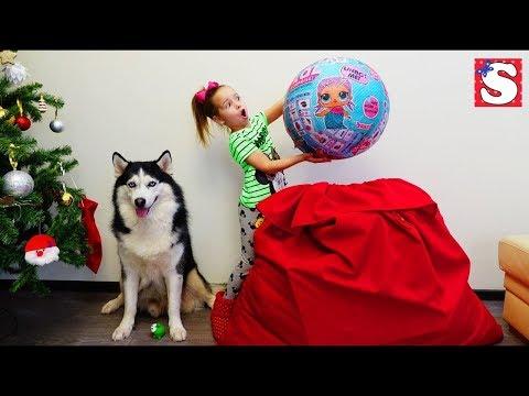 GIANT LOL / Новый ЧЕЛЛЕНДЖ Квест ищем ПОДАРКИ / Игрушки ЛОЛ куклы LOL Dolls Видео для детей