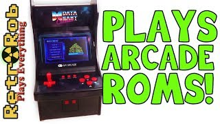 My Arcade Data East 34 Game Mini Arcade Review: Every game played (poorly!)