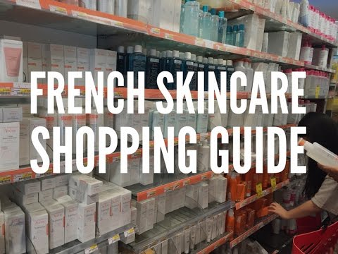 Your French Skincare shopping guide.. City Pharma Paris