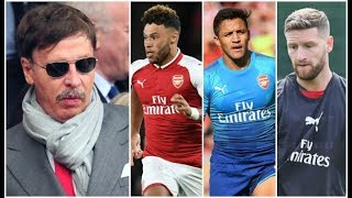 arsenal are in a transfer crisis but where is stan kroenke? aftv transfer daily