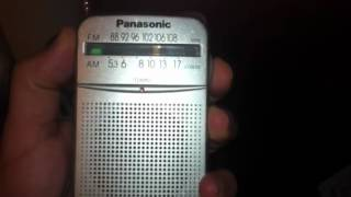 Panasonic RF-P50 Pocket Radio Review