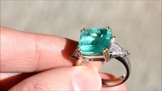 Colombian Emerald & Diamond