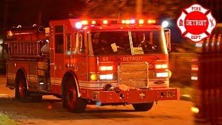 Responding - Detroit Fire, E60