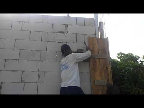 Kontruksi bata ringan /Herbel untuk rumah tinggal.