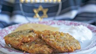 Potato Latkes Recipe (potato Pancakes) A Fam Favorite!